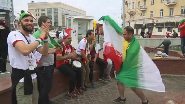 جام جهانی روسیه؛ هوادارن ایران برای بازی با اسپانیا آماده میشوند