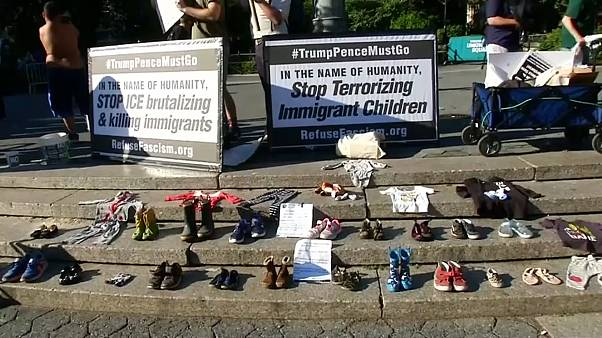Американцы в защиту детей мигрантов