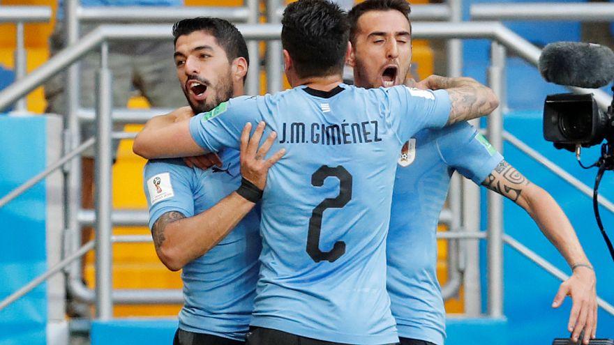 كأس العالم: منتخبا أوروغواي وروسيا يقصيان السعودي والمصري