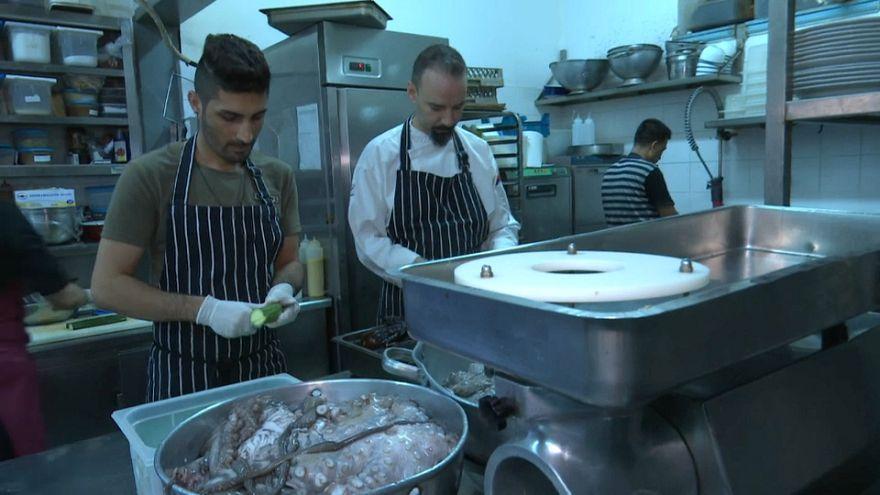 Dia do Refugiado com muito sabor em Atenas