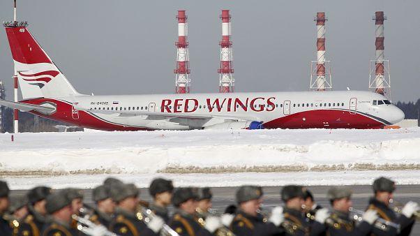 أول طائرة مدنية روسية تهبط في بغداد منذ 2004