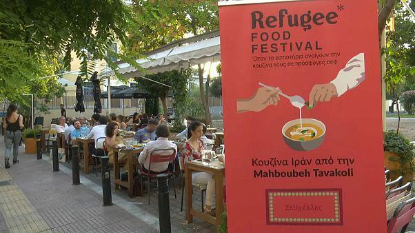 Refugee Food Festival: Flüchtlinge tischen Einheimischen auf