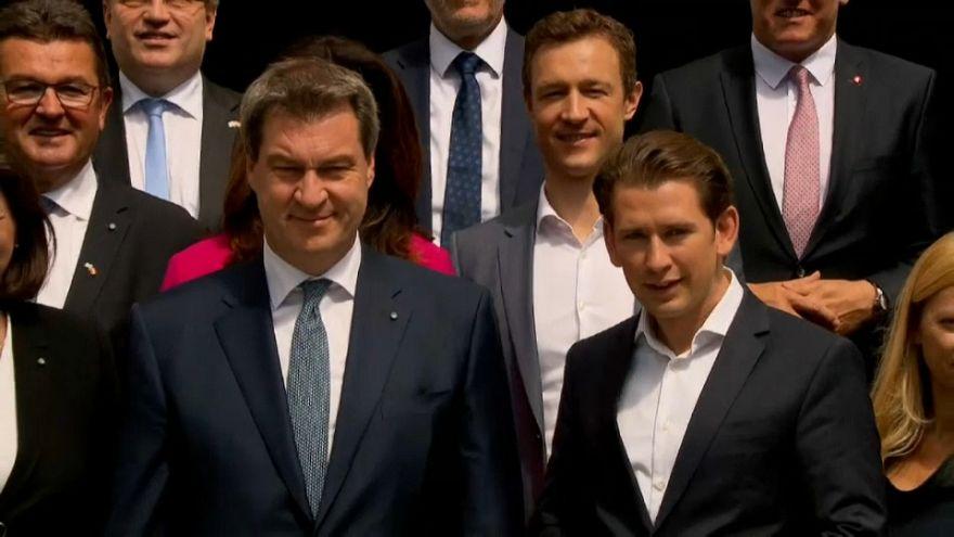 """Migranti: la """"mentalità comune"""" di Austria e Baviera"""