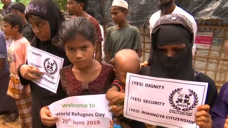 Giornata mondiale dei rifugiati: i Rohingya scendono in strada