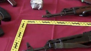 Desmantelada rede de contrabando de armas de guerra