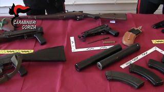 Europol asesta un golpe al tráfico de armas en Europa
