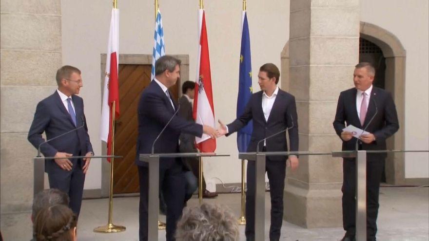 Áustria e Baviera partilham política de migração