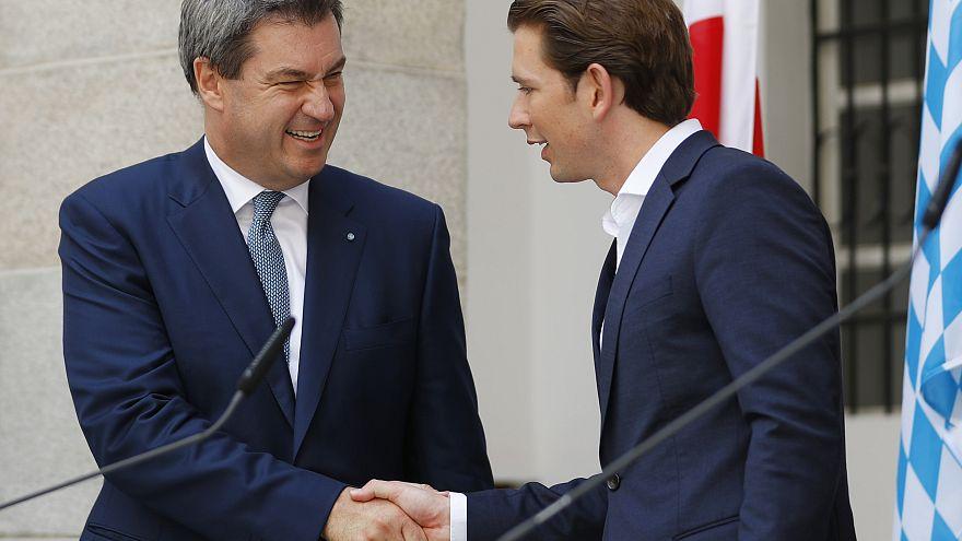 Austria y el 'land' de Baviera unen fuerzas en materia de inmigración