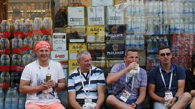 WM: Bier wird knapp