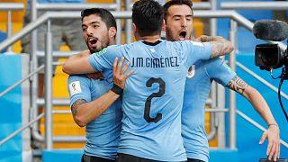 L'Uruguay rejoint les huitièmes de finale
