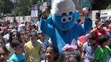 مهرجان إحتفالي في دمشق للأطفال الناجين من الحرب