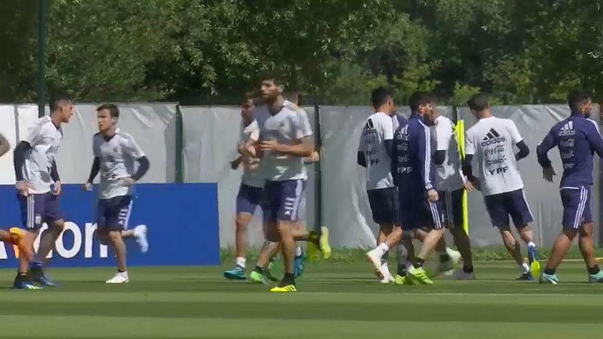 Argentina vs. Croácia: Alta tensão no Grupo D