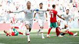 Cristiano Ronaldo marcou aos 04 minutos e já leva quatro golos no torneio