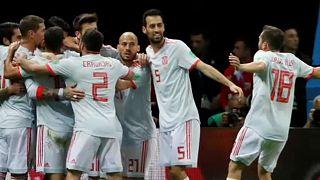 VB 2018: sovány spanyol győzelem Irán ellen