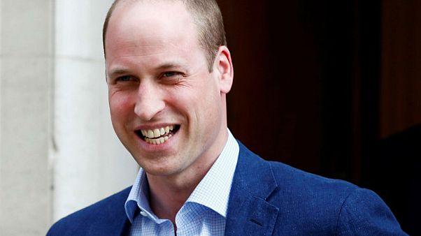 الأمير وليام في لندن