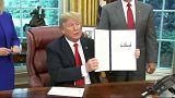USA: Trump, marcia indietro sull'immigrazione
