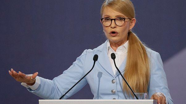 Ukrayna'da Turuncu devrimin liderlerinden Timoşenko yeniden başkanlığa aday