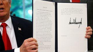 Trump suspende separação das famílias na fronteira