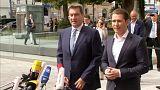 Cumbre antiinmigración de Austria y los países del Visegrado