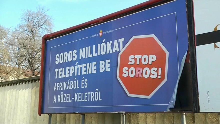 """Eurodeputados e ONGs condenam """"Stop Soros"""""""