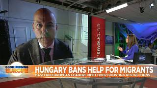 """""""Orban sees himself as the defender of Christian Europe"""""""