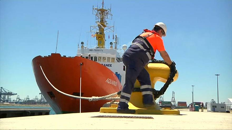 """""""Aquarius"""" fährt zurück ins Rettungsgebiet im Mittelmeer"""