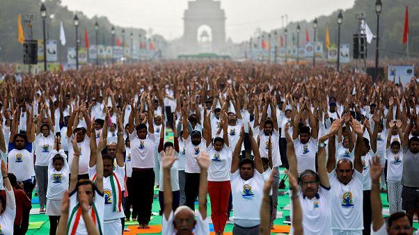 La bonne posture de l'Inde