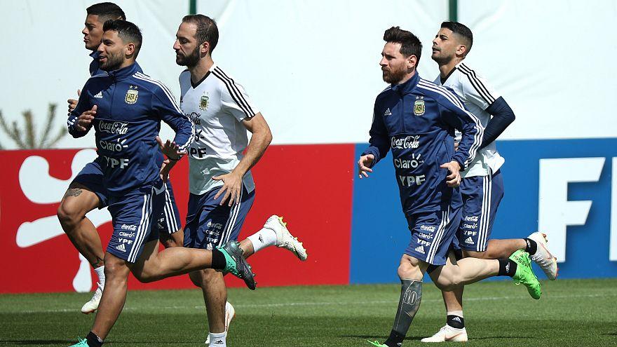 Аргентина сразится с Хорватией