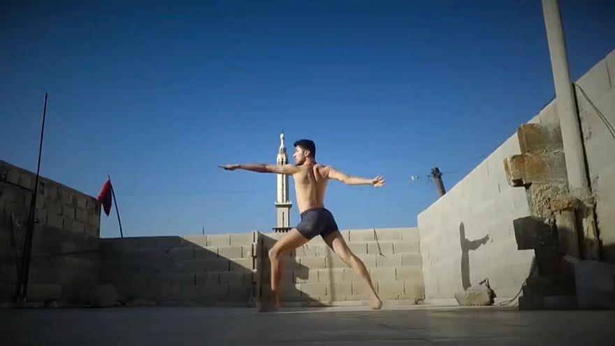 Syrian dancer Ahmad Jouedh