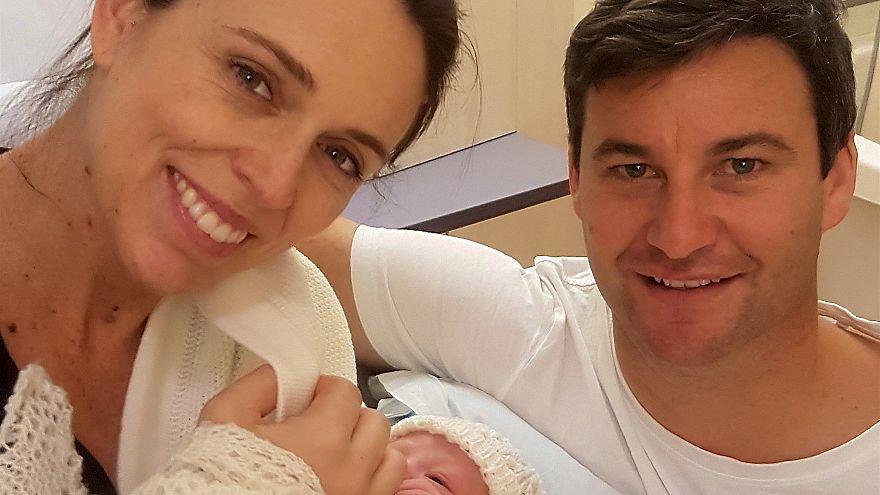 Primeira-ministra da Nova Zelândia já deu à luz