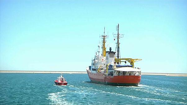 Aquarius deixa Espanha rumo a novas missões