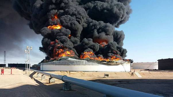 بازپسگیری دو بندر نفتی لیبی از سوی نیروهای موسوم به ارتش ملی