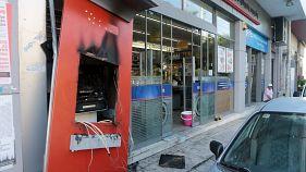 Ελλάδα: Μπαράζ εμπρησμών σε ΑΤΜ κατά τη διάρκεια της νύχτας