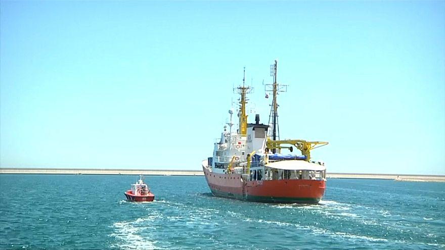 El Aquarius vuelve a su misión de salvamento en el Mediterráneo