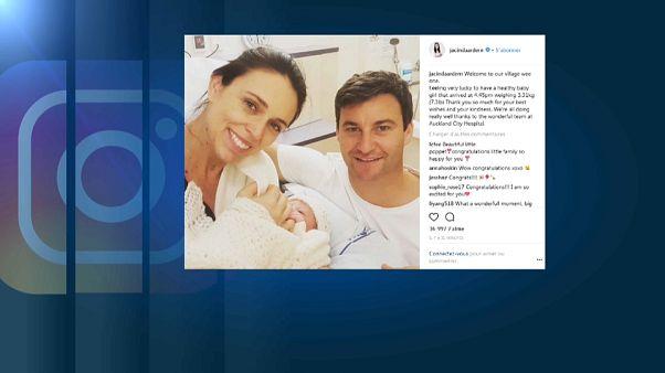 ¡Ha sido niña! La primera ministra de Nueva Zelanda da a luz