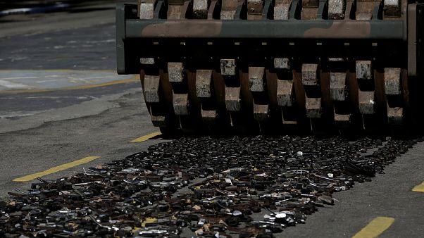 Armes à feu : opération place nette au Brésil