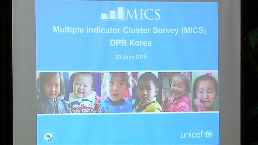 UNICEF diz que crianças da Coreia do Norte estão mais saudáveis