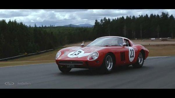 Ferrari de 1962 pode arrebatar mais de 40 milhões de euros