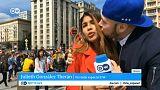 Una periodista acosada en directo durante una retransmisión del Mundial