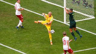 Döntetlent játszott Dánia és Ausztrália