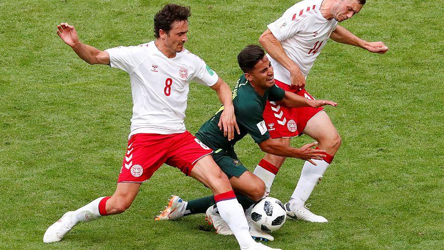 Parité entre Danemark et Australie (1-1)