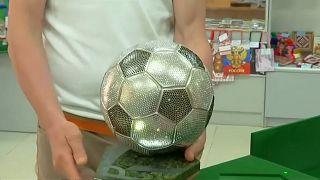 Сверкающий мяч из Мордовии