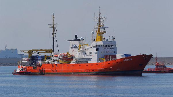 Aquarius de volta às missões de resgate no Mediterrâneo