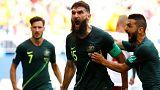 Dinamarca no pasa del empate ante Australia