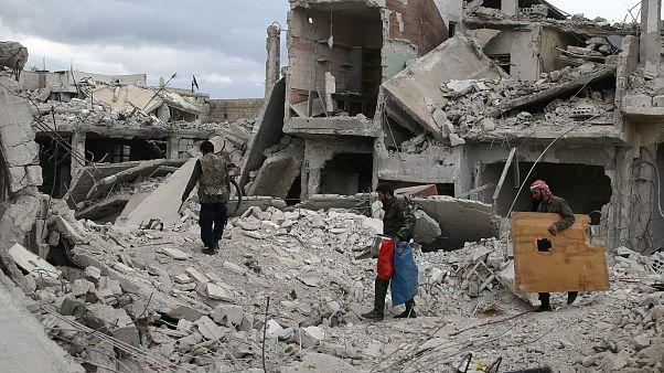 جنوب غربی سوریه زیر آتش توپخانه نیروهای بشار اسد