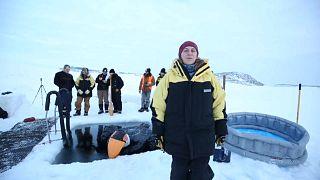 Australische Antarktis-Expeditionsteilnehmer feiern Wintersonnenwende