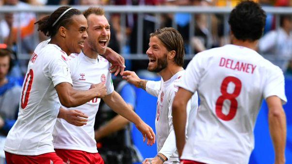 Mondiali: Danimarca-Australia 1-1
