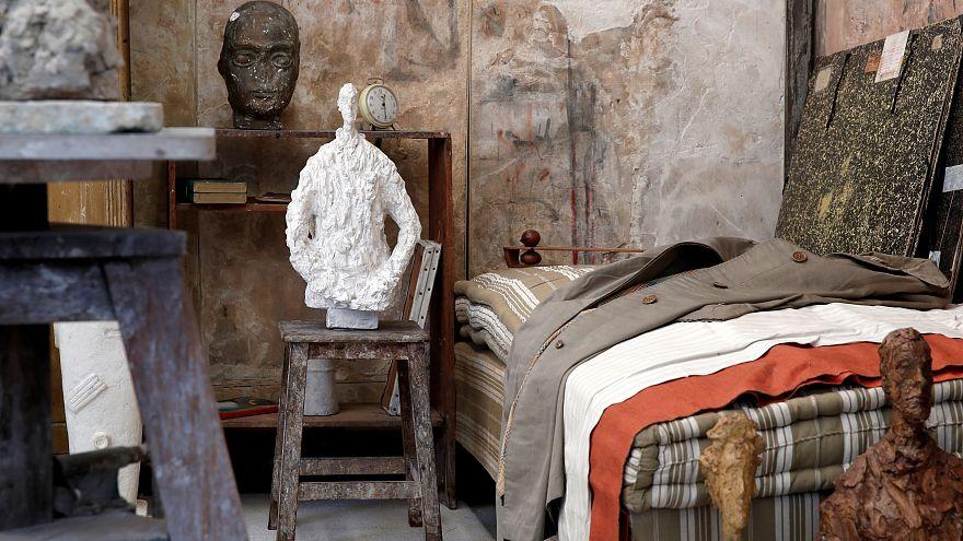 El estudio de Giacometti suspendido en el tiempo