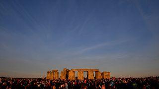 Le solstice d'été fêté à Stonehenge