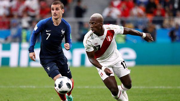 Peru'yu tek golle geçen Fransa tur atladı
